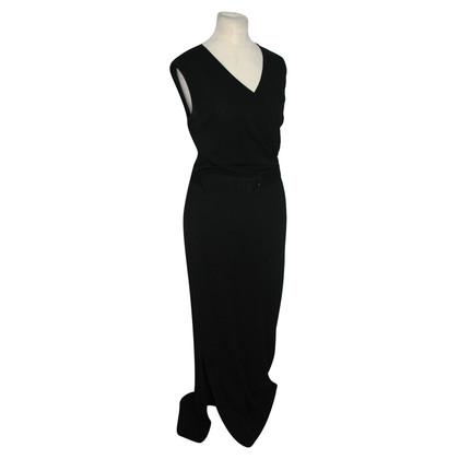 Max Mara Langes schwarzes Kleid