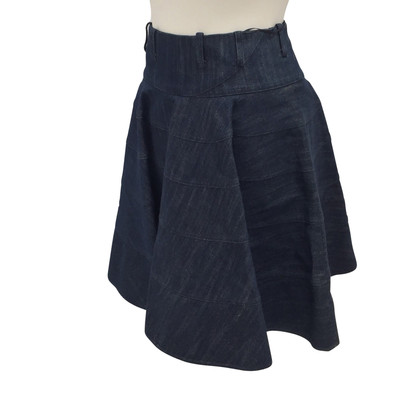 Alaïa denim skirt