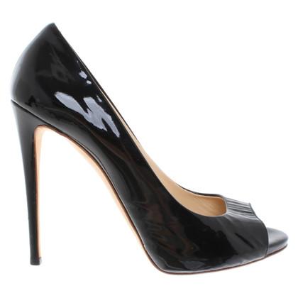 Giuseppe Zanotti Patent leather peep-toes