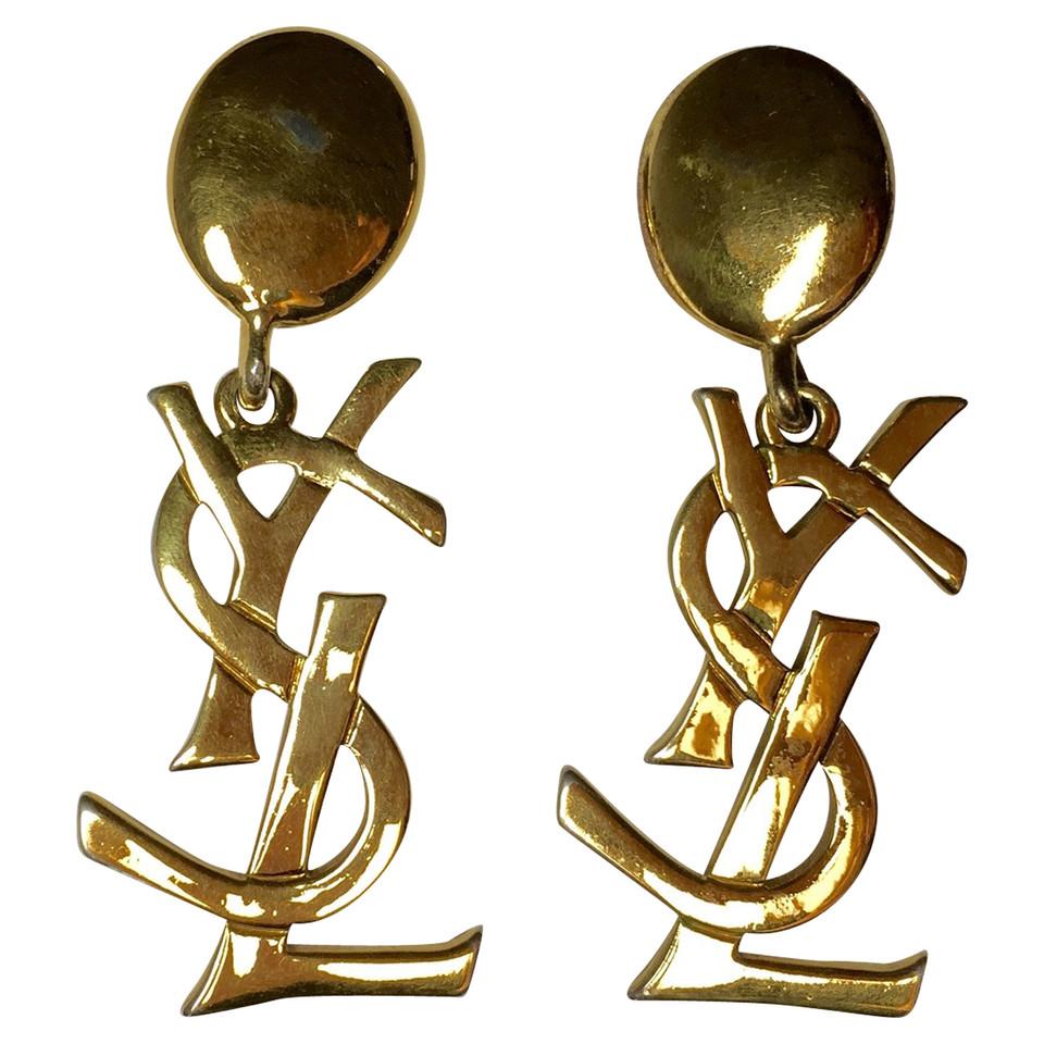 Yves Saint Laurent Iconic Earrings Buy Second Hand Yves