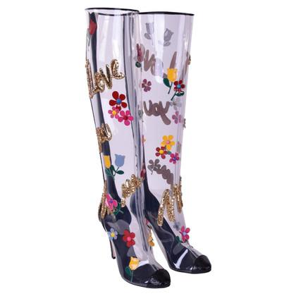 Dolce & Gabbana Krokodil leren laarzen