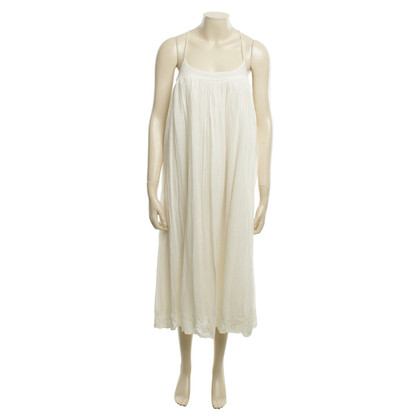 Day Birger & Mikkelsen Dress in cream with decorative embroidery on seam