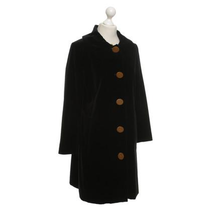 Vivienne Westwood Cappotto di velluto nero