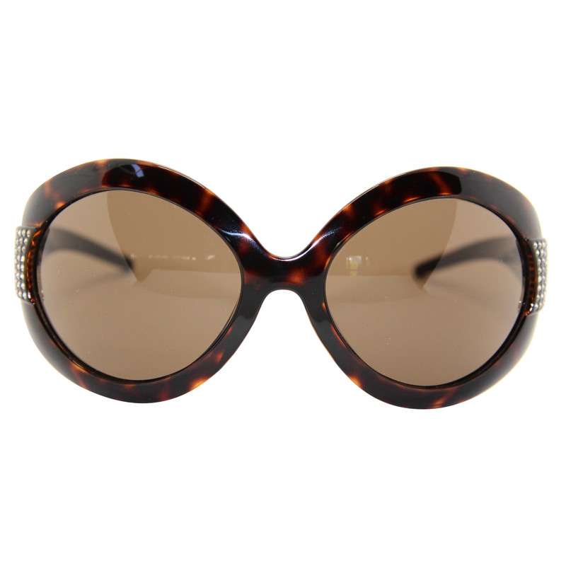 Dolce & Gabbana Sonnenbrille in Braun Second Hand Dolce