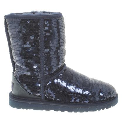 UGG Australia Boots with sequin trim