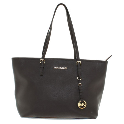 Michael Kors Jet Set Travel TZ Tote Coffee