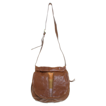 Hugo Boss Boho Bag in Cognac bruin