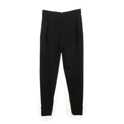 Alexander McQueen High Waist trousers in black