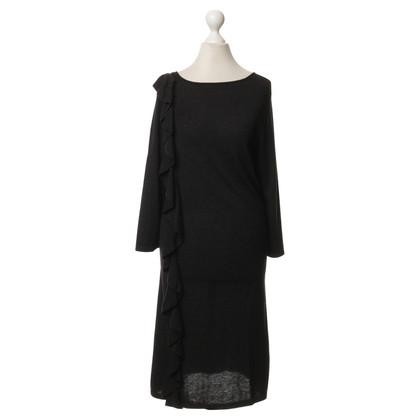 Luisa Cerano Knit dress with Flounce