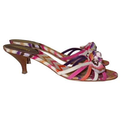 Missoni Sandals with pattern