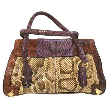 Dolce & Gabbana  python skin bag