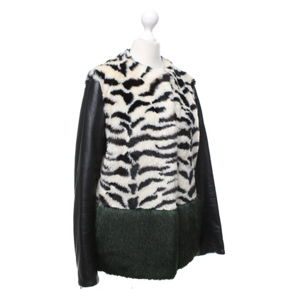 Other Designer De 'Hart jacket with patterned fake fur