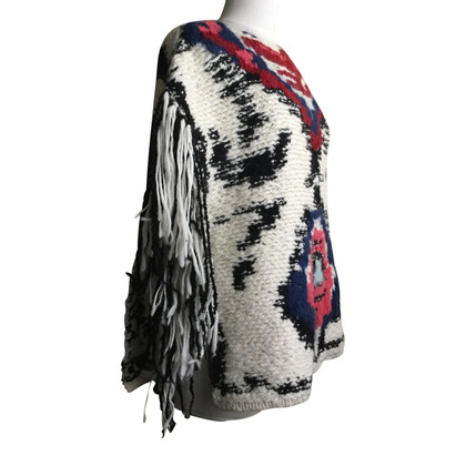 Isabel Marant Etoile Poncho in Multicolor