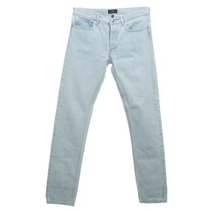 A.P.C. Jeans in lichtblauw