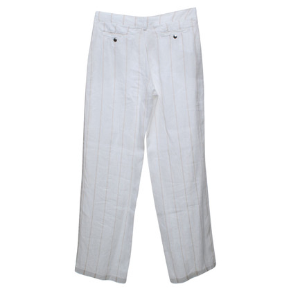 Armani Jeans Sportive trousers made of linen