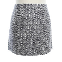 Prada Mini skirt in blue / white