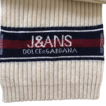D&G Scarf with logo