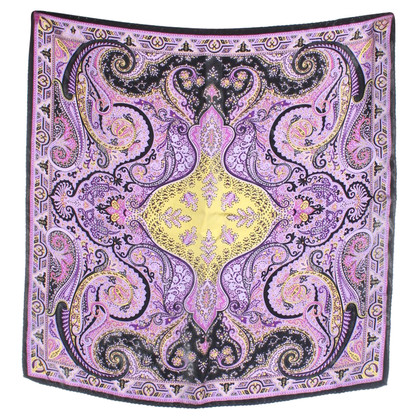 Etro Silk scarf with pattern