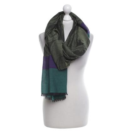 Etro Fijne sjaal met patronen