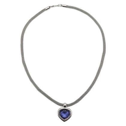 Swarovski Purple Drop Necklace