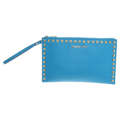 Michael Kors clutch in teal