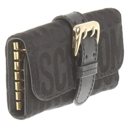 Moschino Schlüsseletui in Schwarz