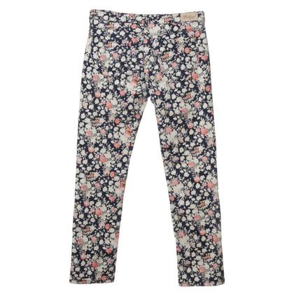 Max Mara Jeans con stampa floreale