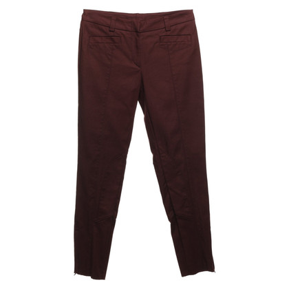 St. Emile trousers in rust red