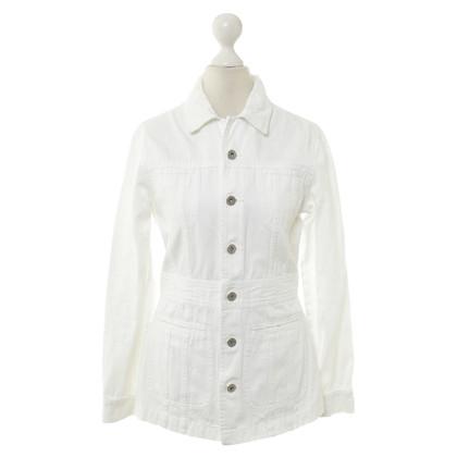 Closed Giacca di jeans in bianco