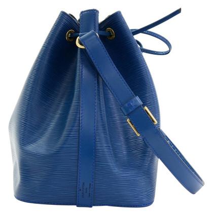 """Louis Vuitton """"Petit Noé EPI leather"""" in blue"""