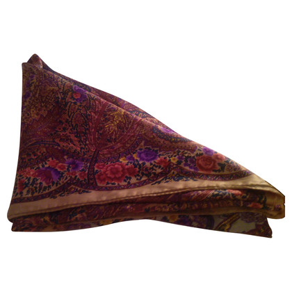 Jil Sander Floral zijden sjaal