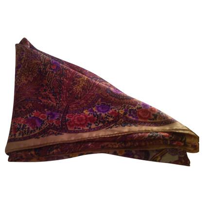 Jil Sander Floral silk scarf