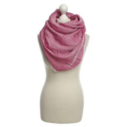 Fendi Scarf in Pink
