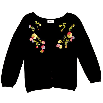 Moschino Cheap and Chic Cardigan mit Stickerei