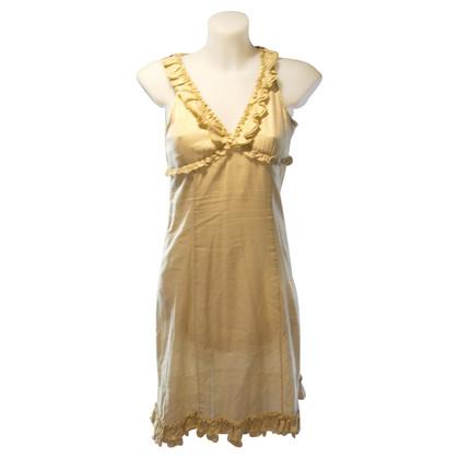 Moschino Goldfarbenes Kleid