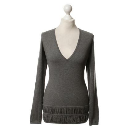 Burberry Fine knit sweater in grey