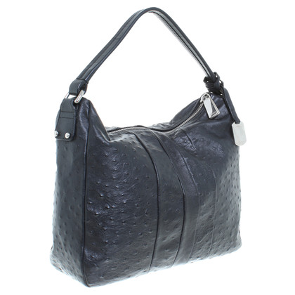 Furla Hobo bag in ostrich leather look
