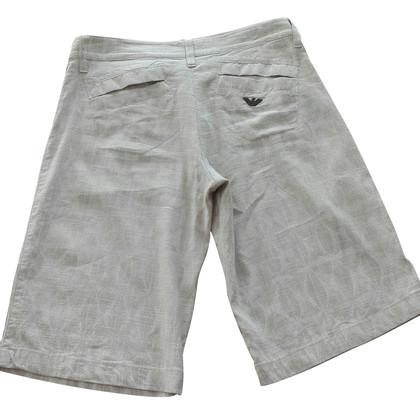 Armani Jeans Bermuda mixed flax