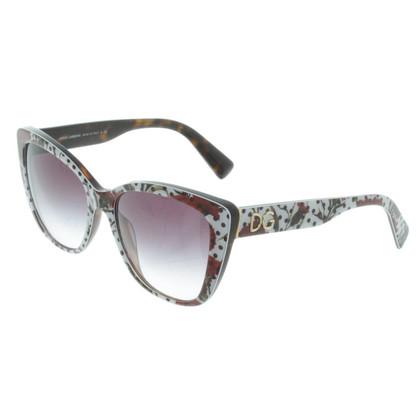D&G Sonnenbrille mit Muster
