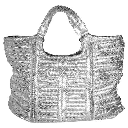 Anya Hindmarch Shopper in Silber