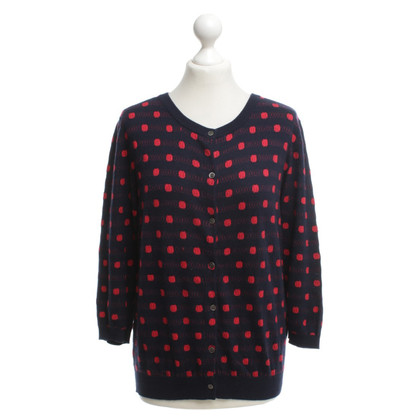 Allude Sweater with polka dots