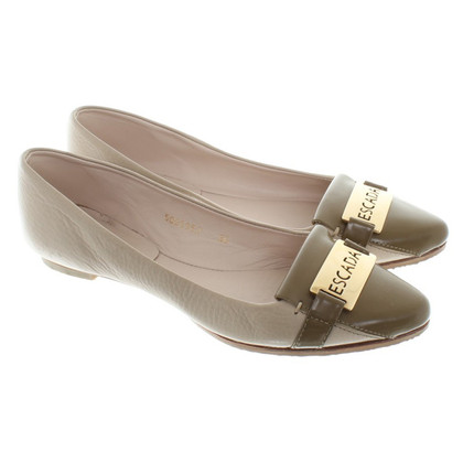 Escada Slipper in Beige
