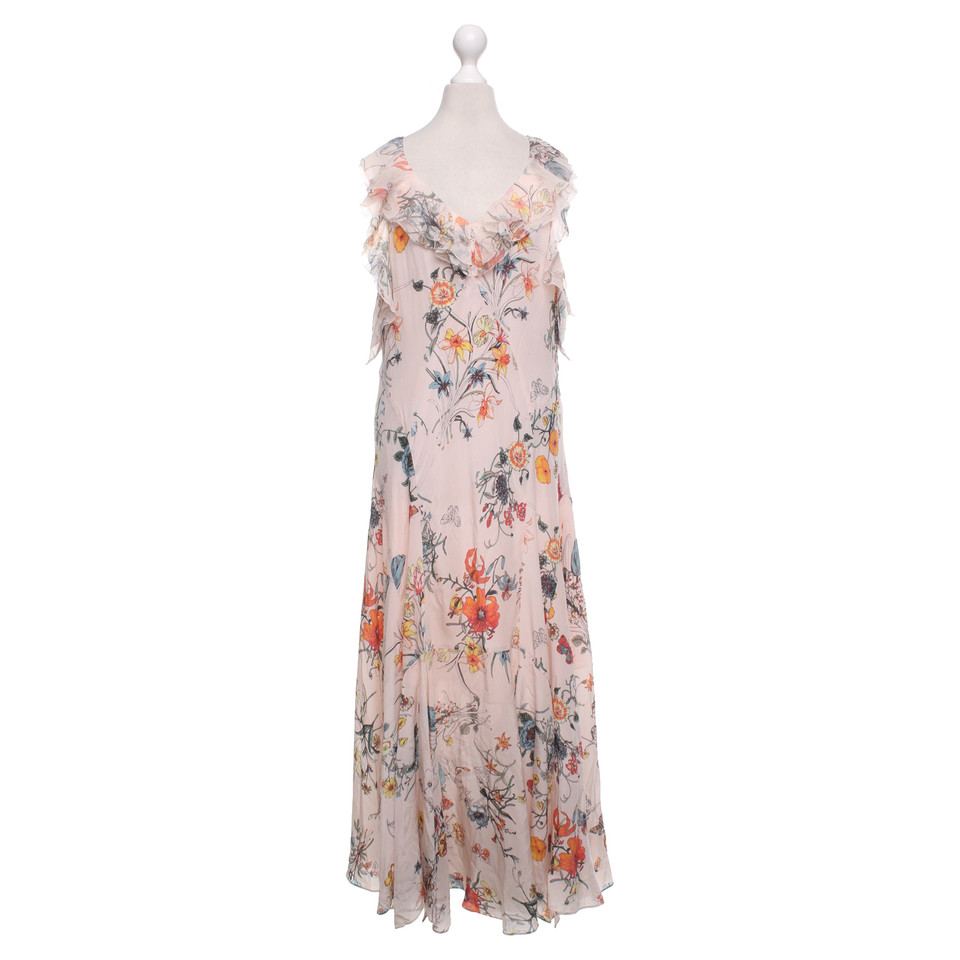 Rebecca taylor robe en soie avec motif acheter rebecca for Rebecca robe mariage taylor