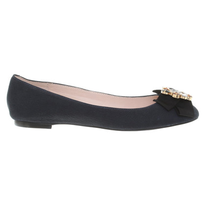 Kate Spade Ballerinas in dark blue