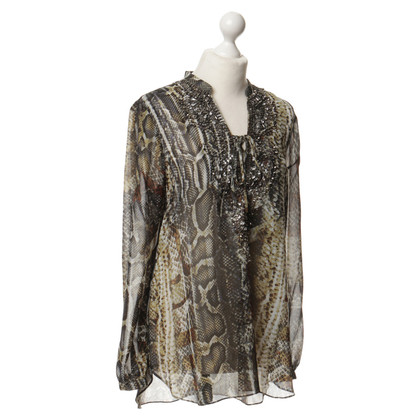 Hale Bob Tunic with Rhinestone stone embroidery