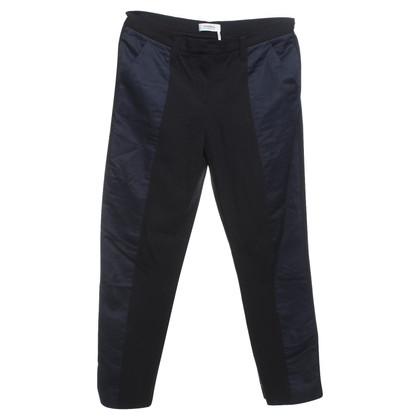 Sonia Rykiel trousers in black / blue