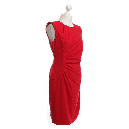 Calvin Klein Sheath Dress in Red