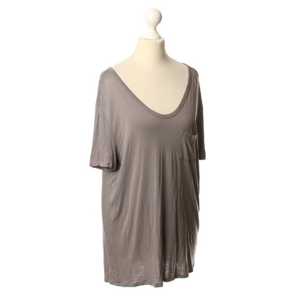 T by Alexander Wang Shirt in Taupe