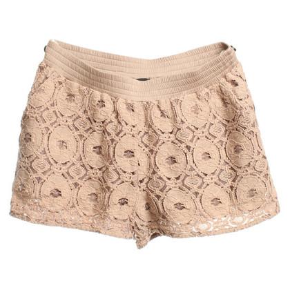Patrizia Pepe Nudefarbene Shorts