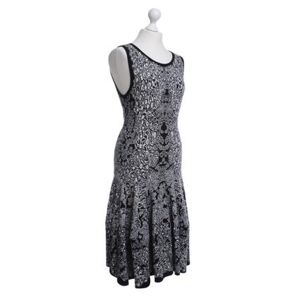 Alexander McQueen Patroon jurk